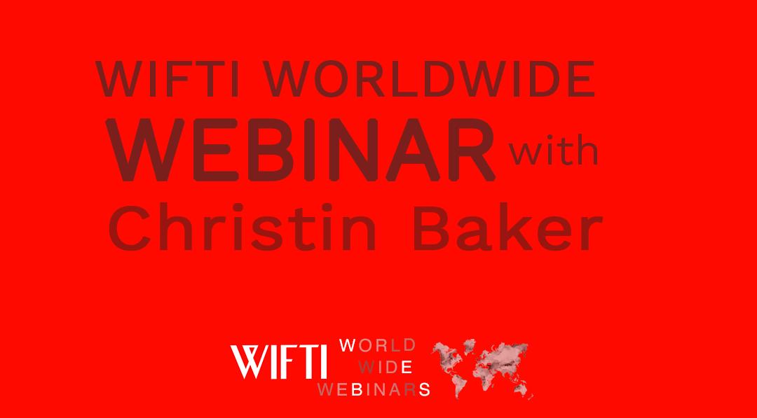 webinar with christin baker
